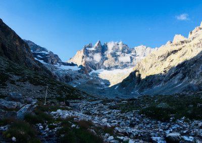 Stage Alpinisme raphael wagon guide refuge chatelleret
