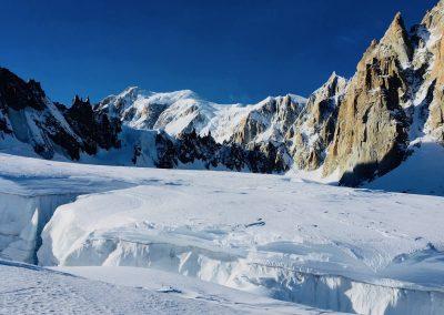 traversée de la vallée blanche guide haute montagne
