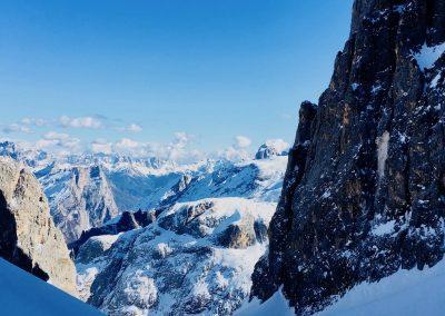 raid à ski en italie avec guide de haute montagne