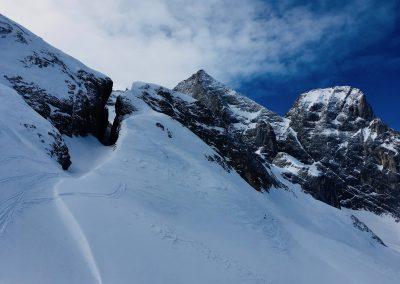 Ski de randonnée en Suisse avec guide de haute montagne