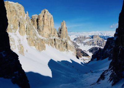 Raid à ski en Italie avec des guides de haute montagne