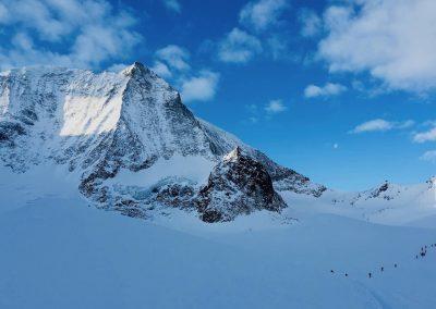 raid à ski en suisse