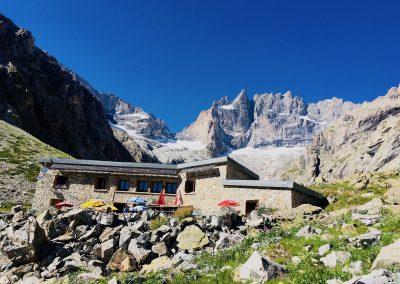 Stage Alpinisme raphael wagon guide refuge du Chatelleret