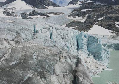 Glacier guide de haute montagne
