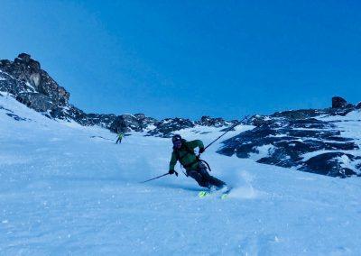 Ski hors piste avec Raphaël Wagon guide de haute montagne