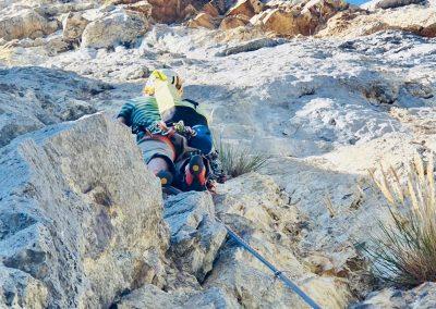 Guide en escalade à Presles dans le Vercors