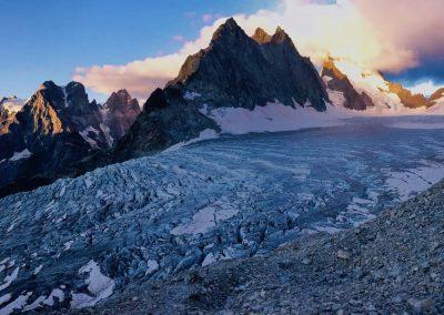 Alpinisme Glacier Blanc guide haute montagne