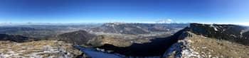 Panorama vue du Vercors