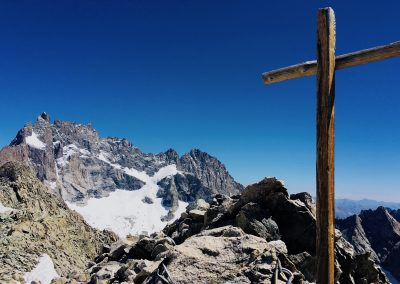 Stage Alpinisme raphael wagon guide sommet tête du replat