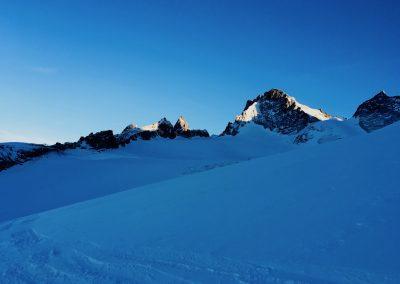 Ski hors piste à la La grave