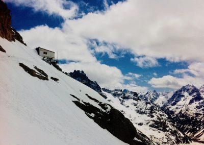 Ski de randonnée à la Meije avec guide de haute montagne