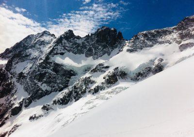 Ski de randonnée à la Meije