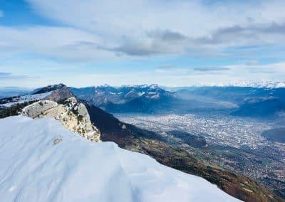 Ski de randonnée dans le Vercors guide