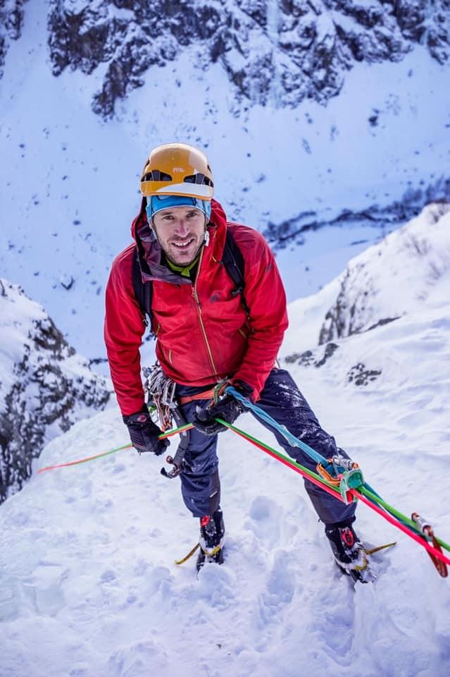 Raphaël Wagon guide de haute montagne vercors, alpes