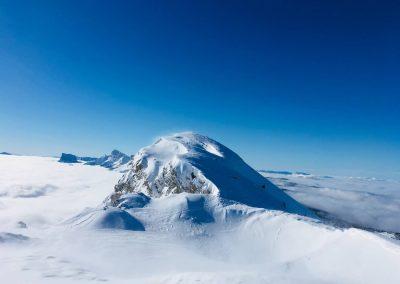 Faire du ski de randonnée dans le vercors avec un guide